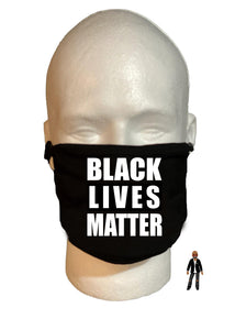 """BLM"" Face Mask - 100% Cotton 3 Layer / Washable"