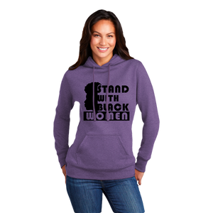 SWBF: Stand With Black Women, Face Hoodie (Ladies)