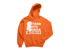 Load image into Gallery viewer, SWBF: Stand With Black Women, Face Hoodie (Unisex)