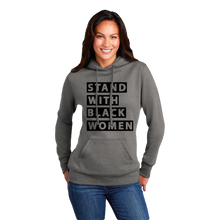 Load image into Gallery viewer, SWBS: Stand With Black Women, Standard Hoodie (Ladies)