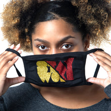 "Load image into Gallery viewer, ""Woke"" Stop The Divide Face Mask - 100% Cotton 3 Layer / Washable"