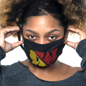 """Woke"" Stop The Divide Face Mask - 100% Cotton 3 Layer / Washable"