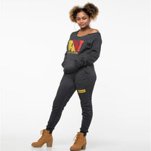 "Load image into Gallery viewer, WOKE: ""Stop The Divide"" Ladies Fleece Jogger - Set"