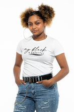 Load image into Gallery viewer, My Black is Beautiful (Glits)  - Ladies Tee