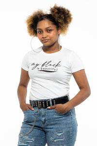 My Black is Beautiful (Glits)  - Ladies Tee