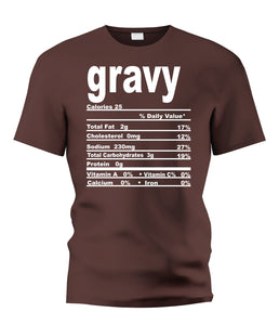 Gravy Nutritional Facts Tee