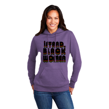 Load image into Gallery viewer, iSBWF: iStand With Black Women, Retro Hoodie (Ladies)