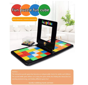50% OFF Today-Two people fighting color moving cube