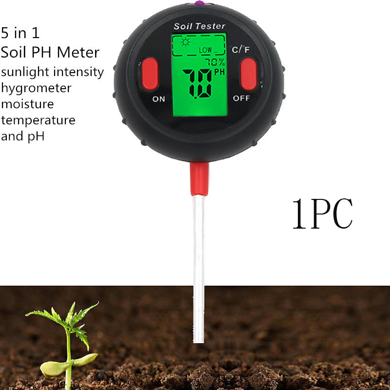 Soil acidity tester
