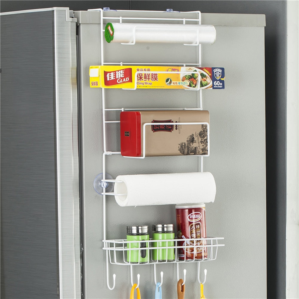 Multi-Layer Refrigerator Side Rack