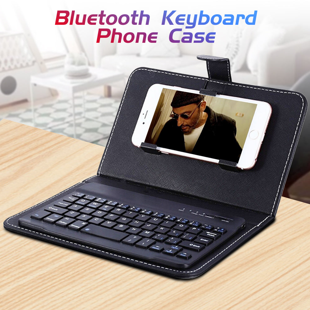 Wireless Bluetooth Keyboard Case For Mobile Phone