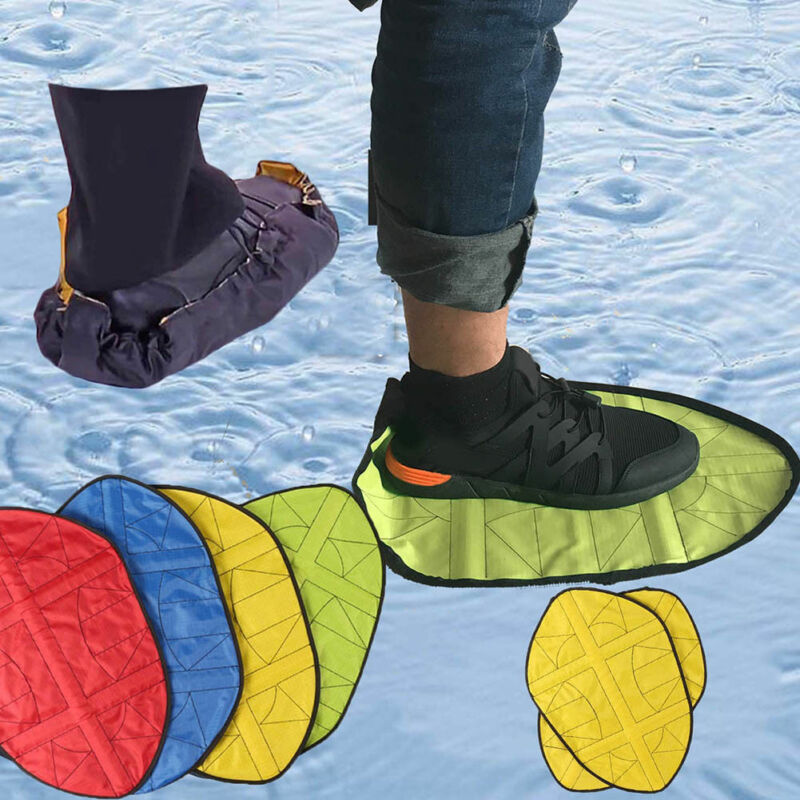 Hands-Free Reusable Shoe Covers