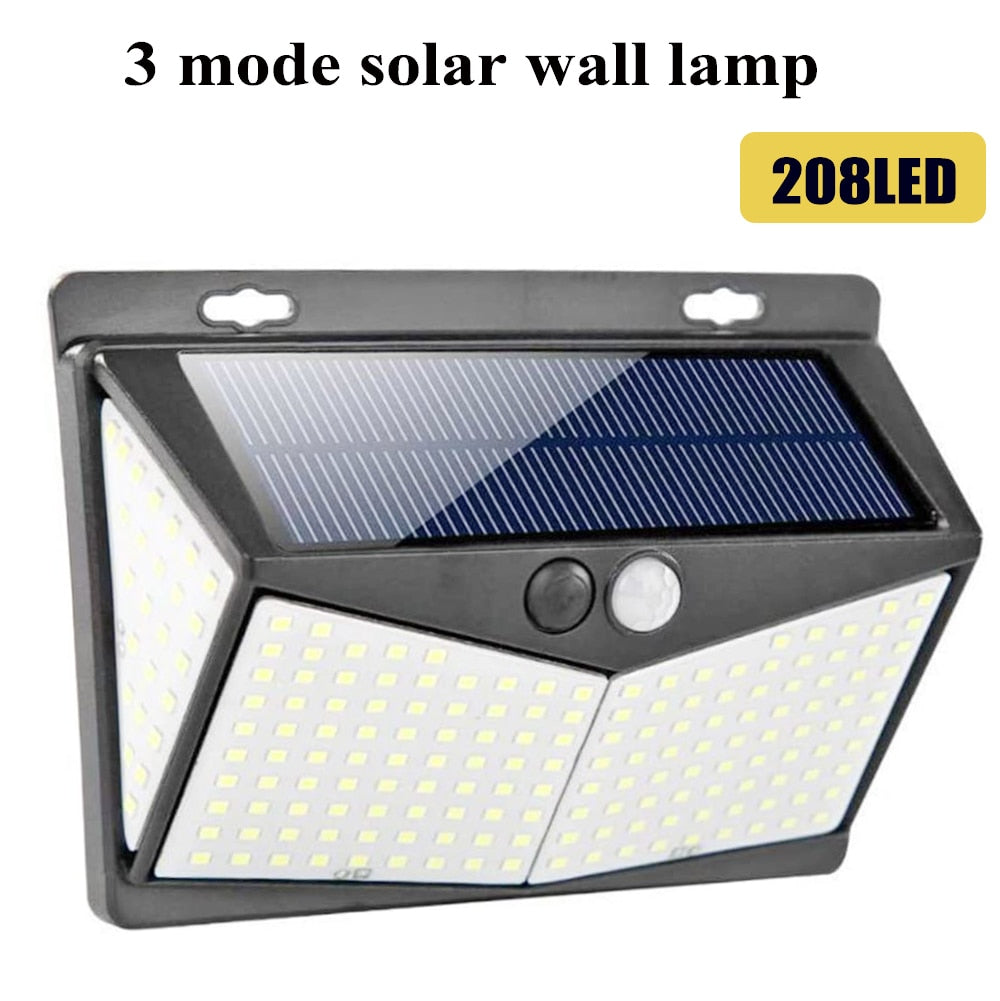 Solar Powered Light Motion