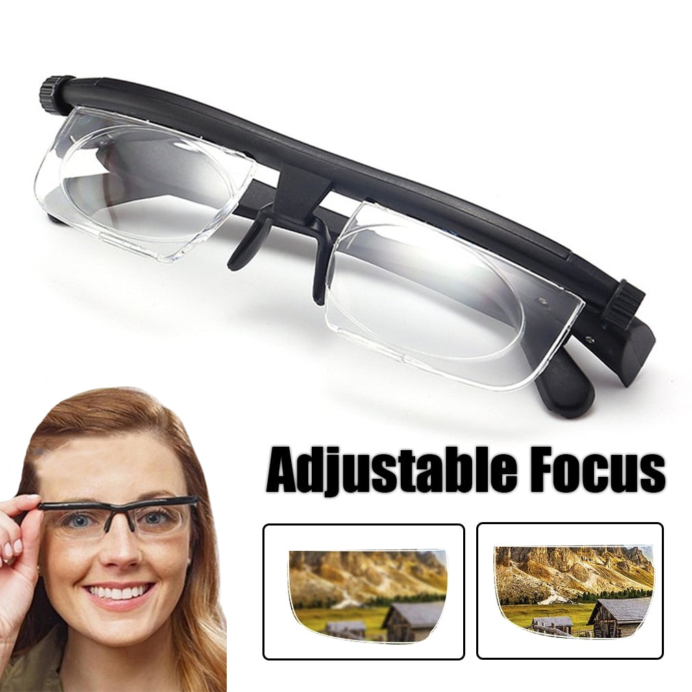 Adjustable Glasses Unisex Dial