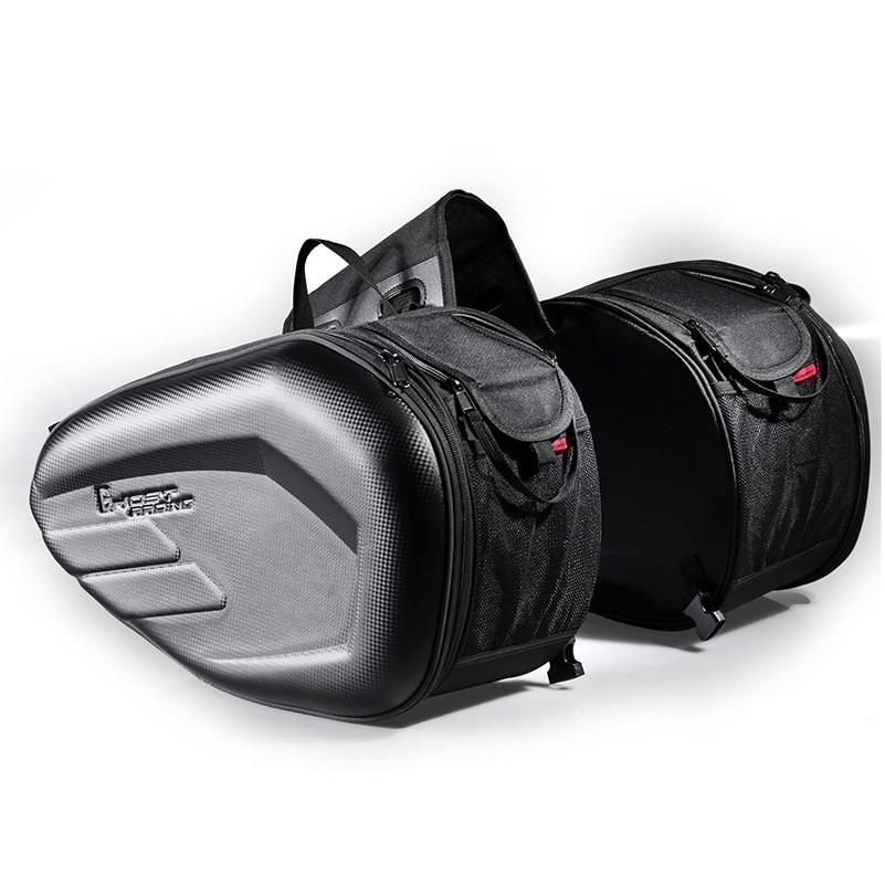 RydeLuggage - Universal Frameless Motorcycle Saddle Bag