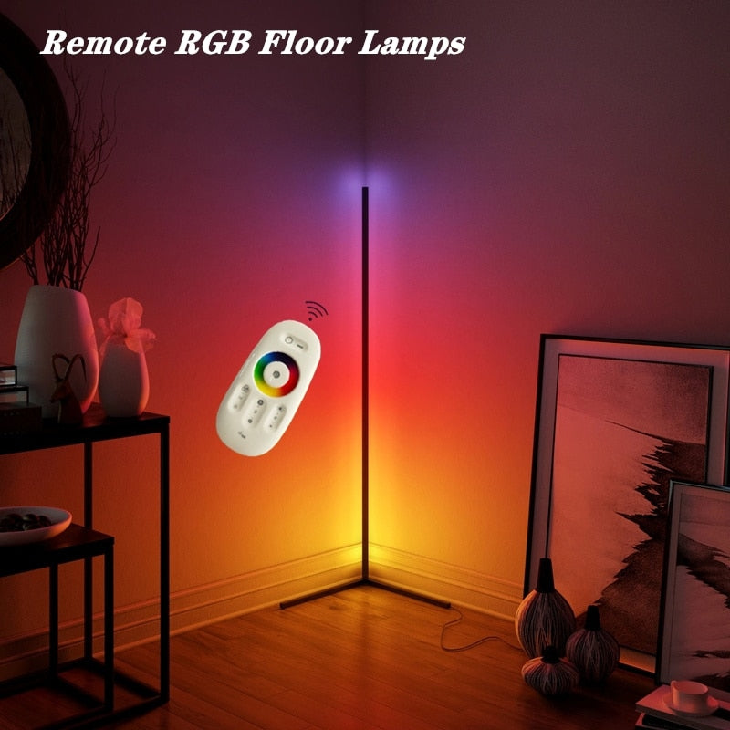 Adjustable LED Corner Floor Lamp
