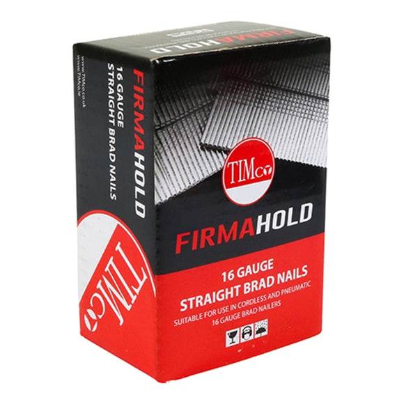 FirmaHold Collated Brad Nails (Straight) - Gauge 16