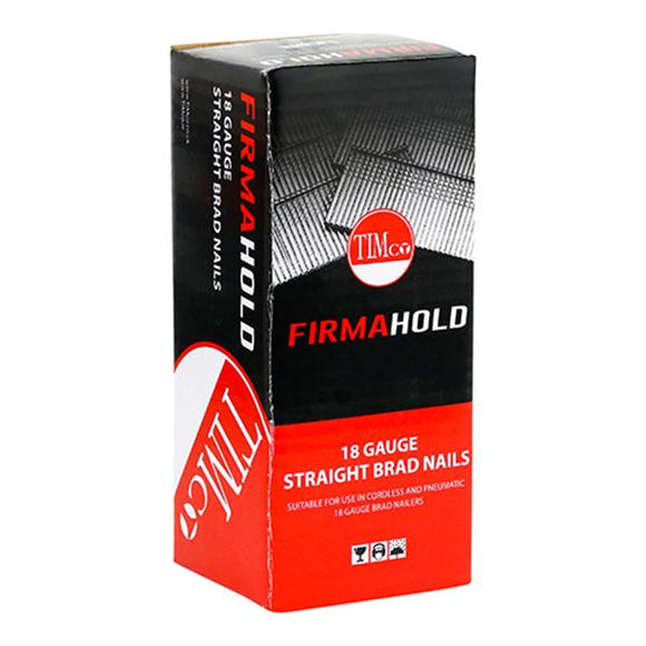 FirmaHold Collated Brad Nails (Straight) - (Full Range Gauge 18 at 16mm-50mm)