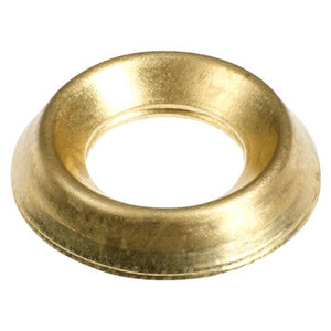 Screw Cups 6mm Brass/Nickle