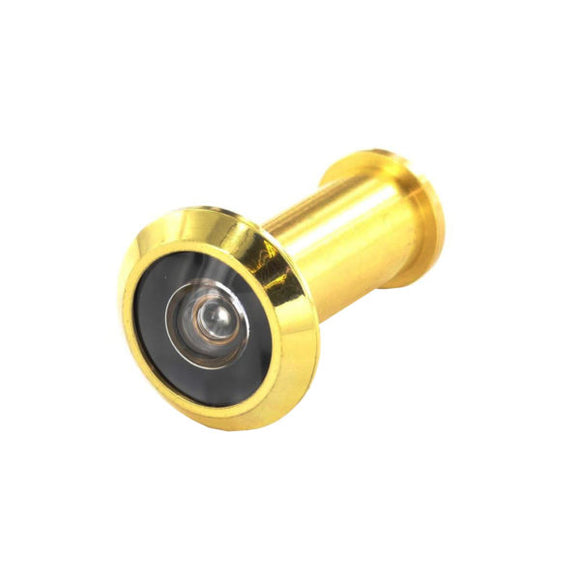 Door Viewer 180° Polished Brass