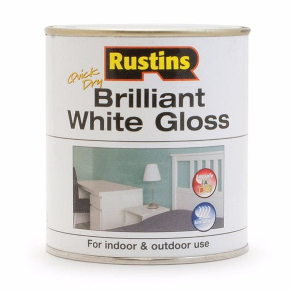 Quick Dry White Gloss - (Click for Range)