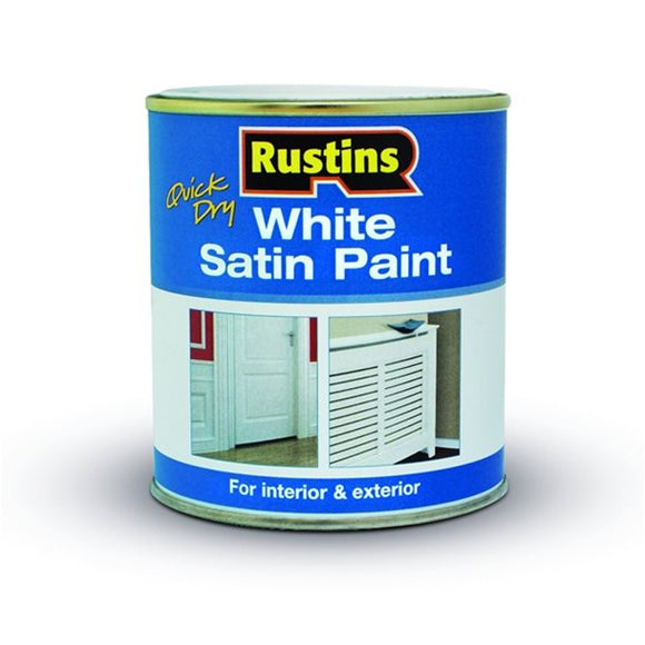 Quick Dry Satin White - (Click for Range)