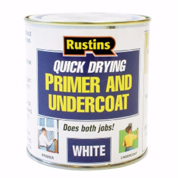 Quick Dry White Primer and Undercoat - (Click for Range)