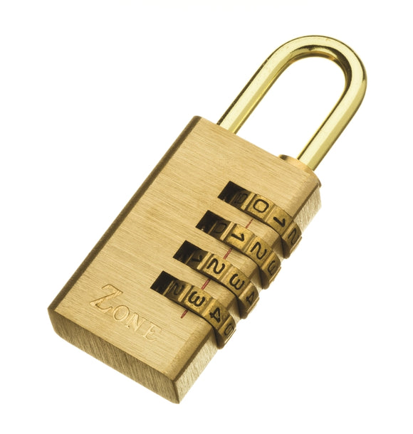 24 Series – Brass Combination Padlock 30mm