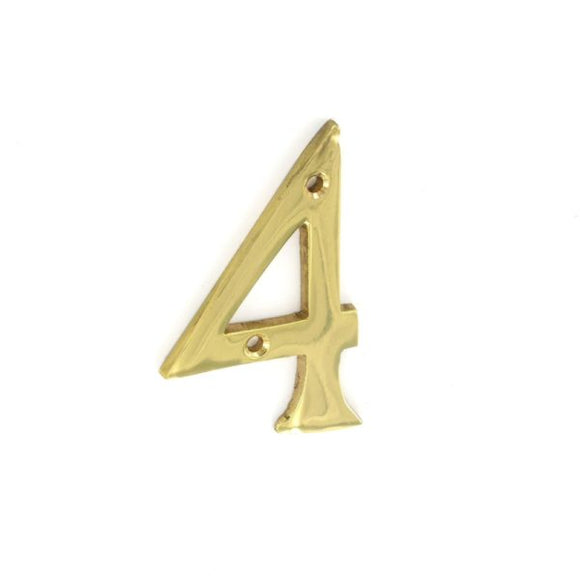 No.4 Numeral 75mm - (Click for Range)