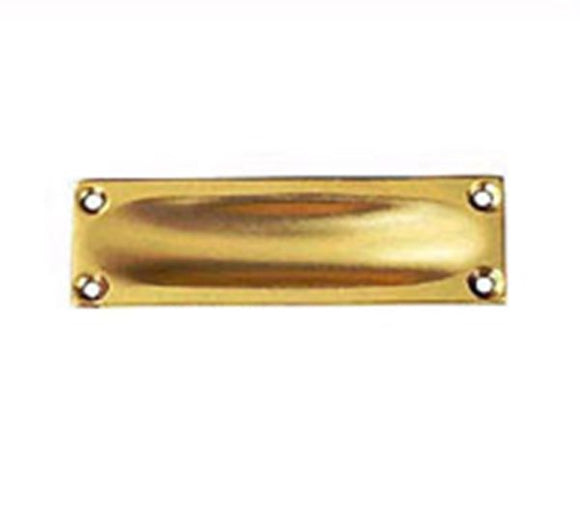 Brass Flush Pull 90mm