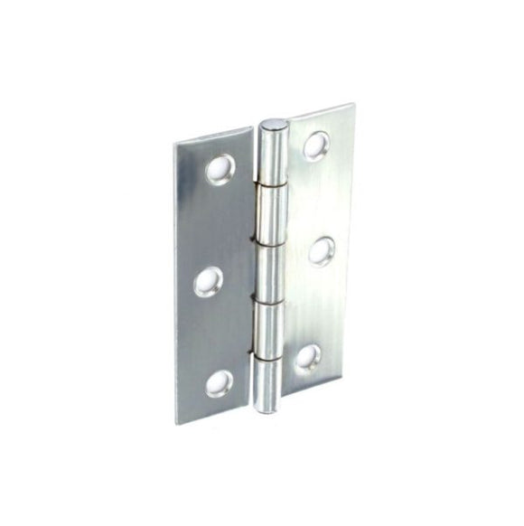 Steel Butt Hinges Zinc Plated - (Click for Range)