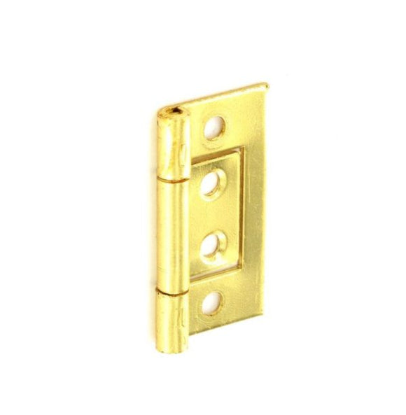 Flush Hinges Brass Plated
