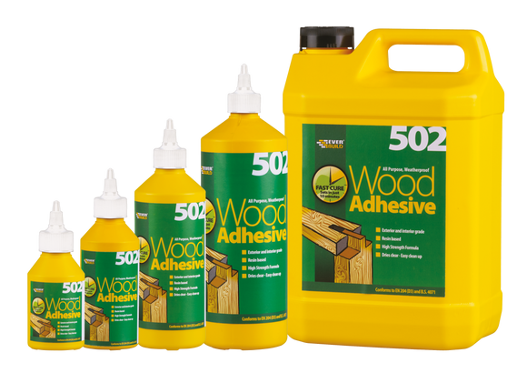 Wood Adhesive - (Click for Range)