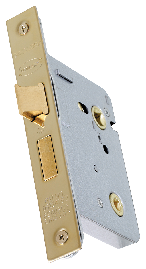 Mortice Bathroom Lock - (Click for Range)