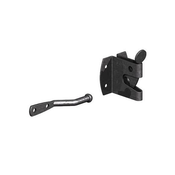 Auto Gate Catch Medium Black