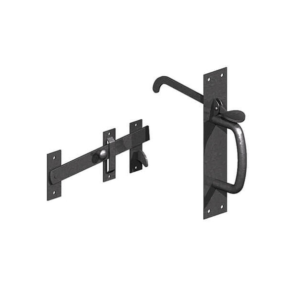 Light Suffolk Latch Black