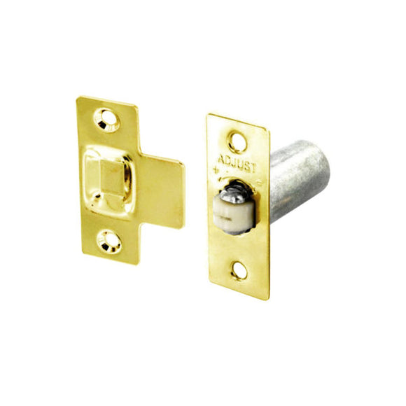 Adjustable Roller Catch Brass/Nickle