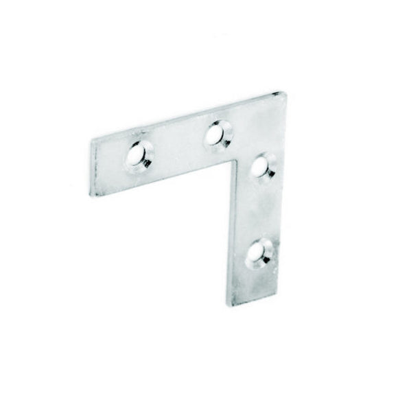 Corner Plate Zinc Plated - (Click for Range)