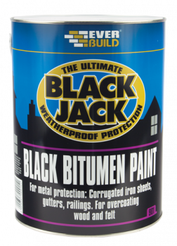 Black Bitumen Paint 1Ltr