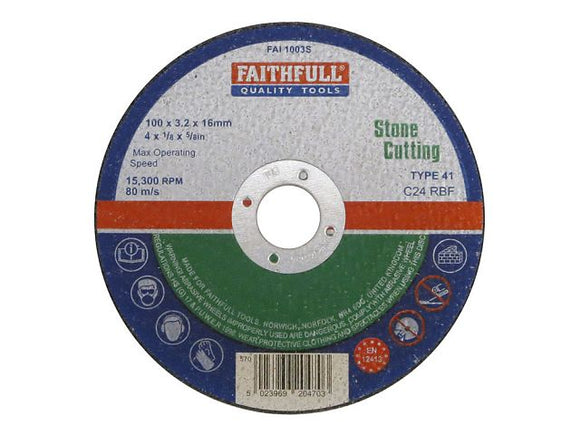 Stone Cutting Discs - (Click for Range)
