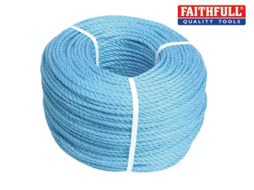 Blue Poly Rope (Price per Mtr)