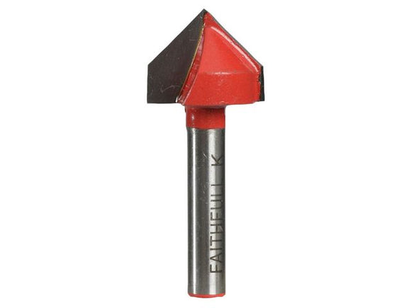 Router Bit TC V Groove