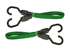 "Flat Bungee Cord 610mm (24"") Green"