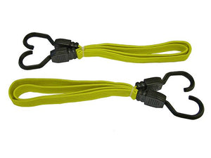 "Flat Bungee Cord 910mm (36"") Yellow"