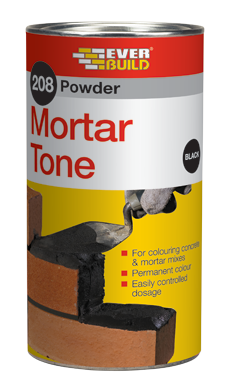 208 Powder Mortar Tone 1Kg - Black, Brown & Red