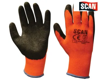 Thermal Latex Coated Gloves - (Click for Range)