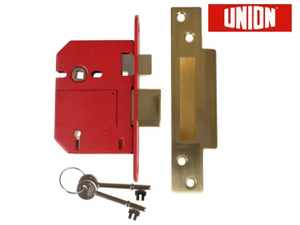"StrongBOLT 2200S 5 Lever Mortice Sashlocks 3"" - (Click for Range)"