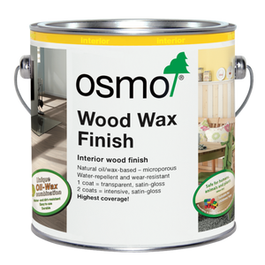 Wood Wax Finish - (Click for Range)