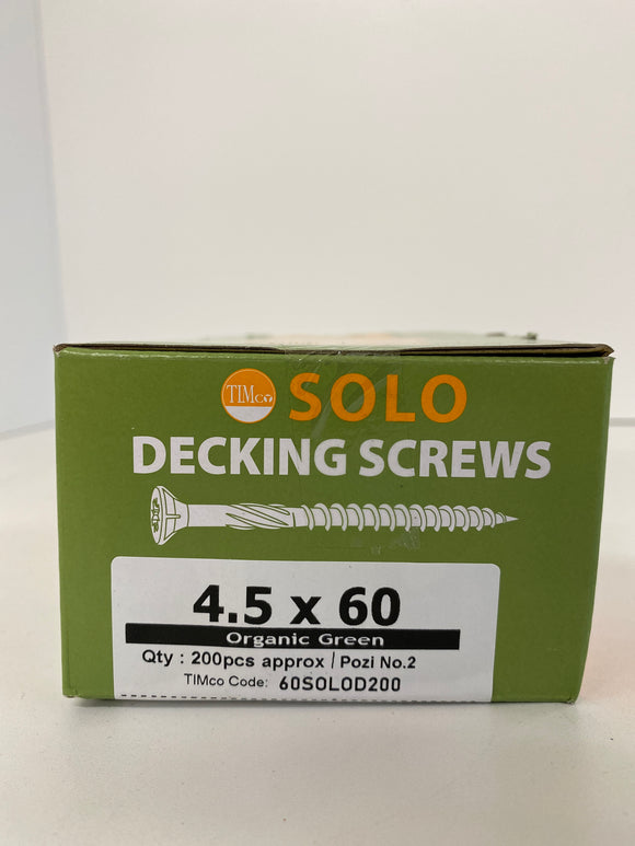 Solo Deck Screw 4.5mm x 60mm