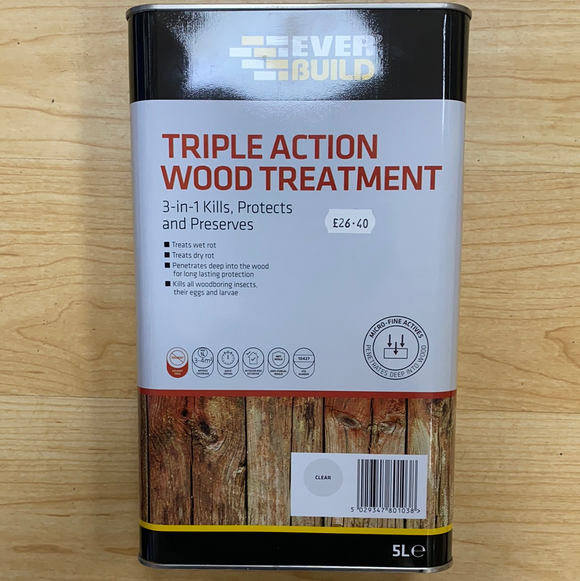 Wood Treatment Triple Action - (Click for Range)